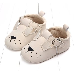This Cuteness Baby Shoes Beige Doggy