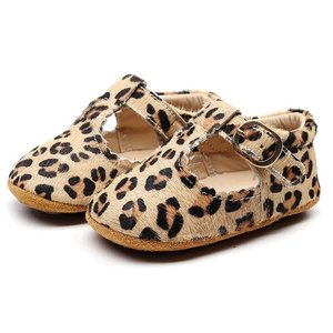 This Cuteness Baby Mocassins Open Leopard