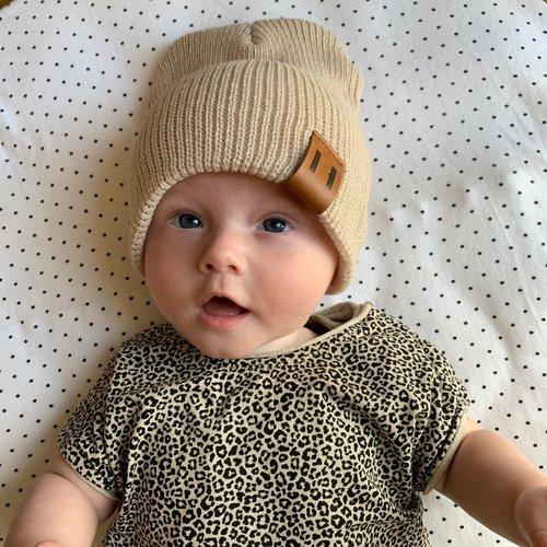 This Cuteness Muts Beige Wool