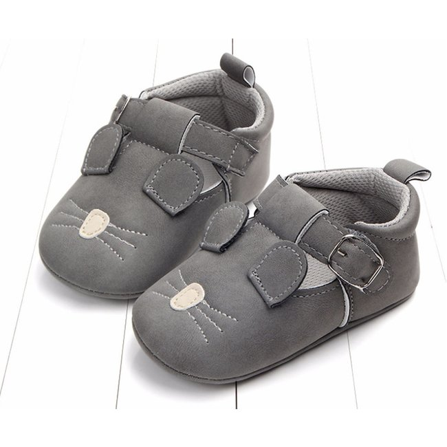 This Cuteness Baby T-Bars Dark Grey Mouse