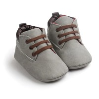 Baby Boots Timber Light Grey