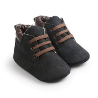 Baby Boots Timber Black