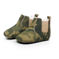 Baby Chelsea Boots Army Green