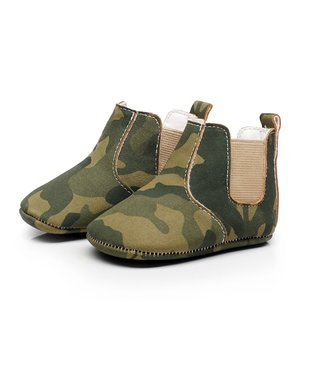 This Cuteness Baby Chelsea Boots Army Green