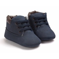 Baby Boots Timber Blue