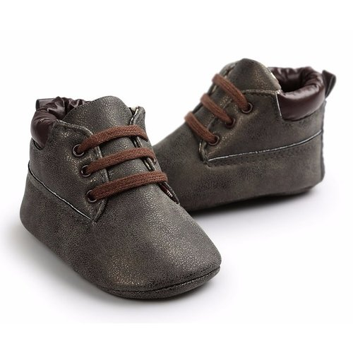 This Cuteness Baby Boots Timber Dark Grey