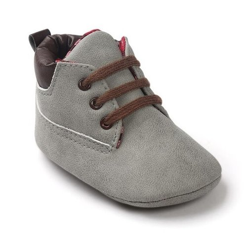 This Cuteness Baby Boots Timber Light Grey