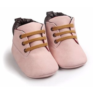 This Cuteness Baby Boots Timber Pink