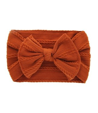 This Cuteness Haarband Orange Knot