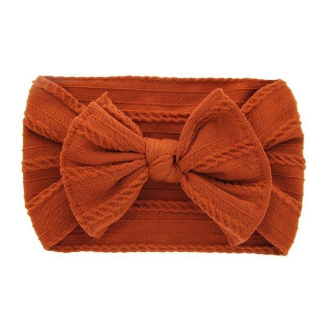 Haarband Orange Knot