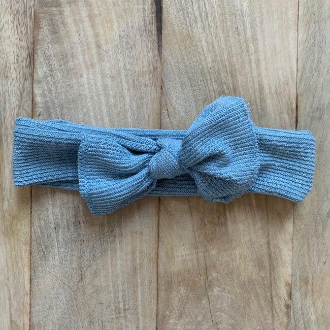 Haarband Denim Blue Cotton