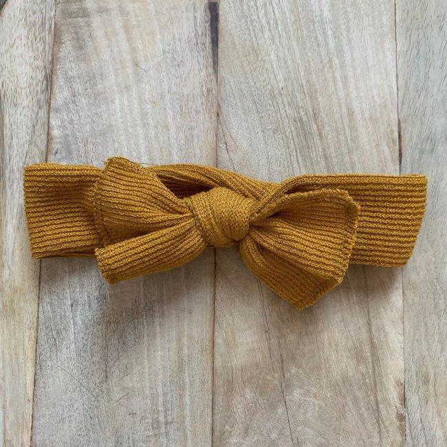 Haarband Ocher Yellow Cotton