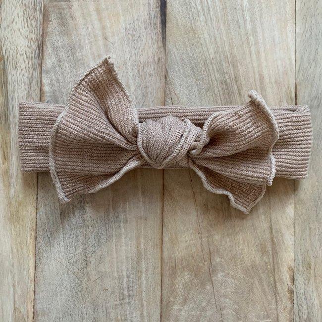 Haarband Khaki Cotton