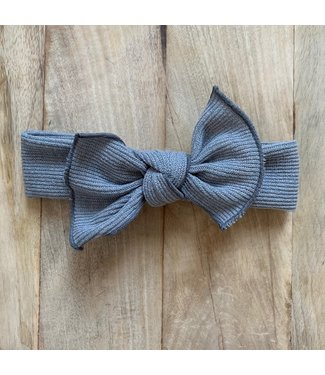 This Cuteness Haarband Grey Cotton