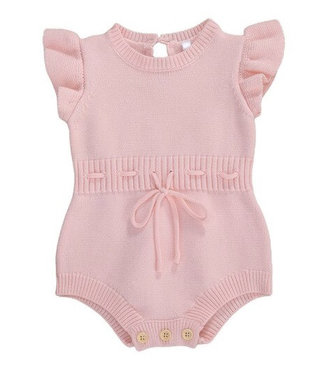 This Cuteness Body Knitted Sky Pink