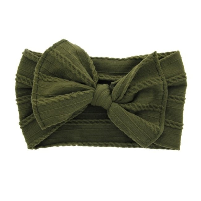 Haarband Green Knot