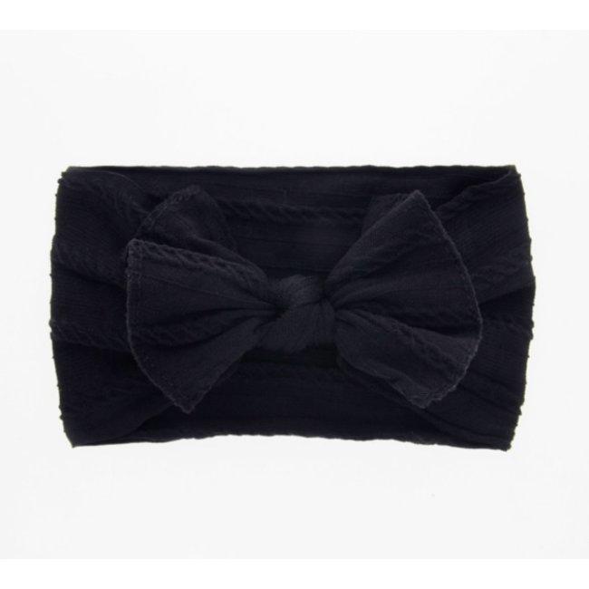Haarband Black Knot