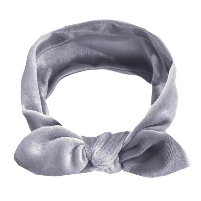 Haarband Velvet Grey