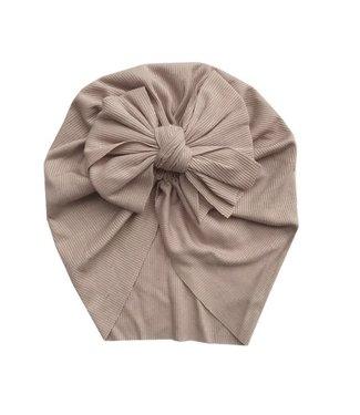This Cuteness Turban Single Knot Khaki