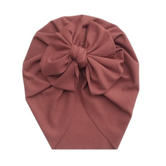 Turban Single Knot Old Red