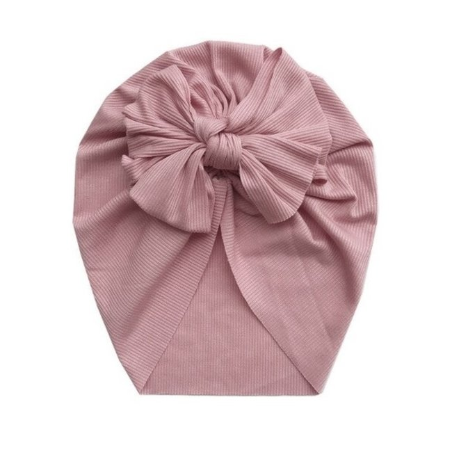 Turban Single Knot Old Pink
