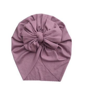 This Cuteness Turban Single Knot Lila