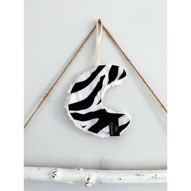 Knuffeldoekje Moonie Zebra