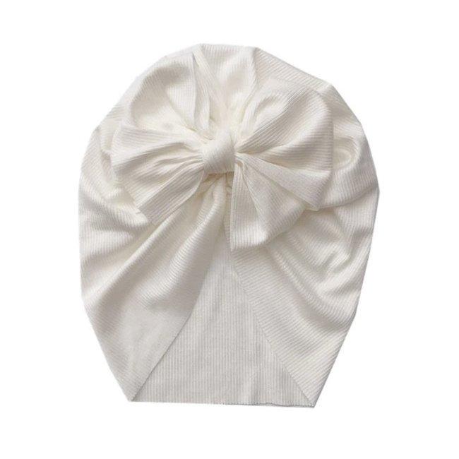 Turban Single Knot White