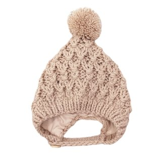 This Cuteness Baby Muts Knitted Wool Beige