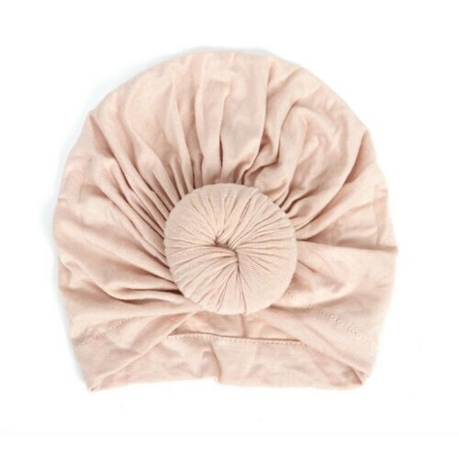Turban Cotton Donut Beige