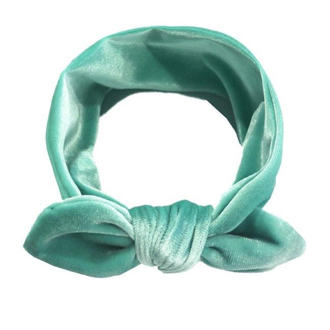 Haarband Velvet Mint