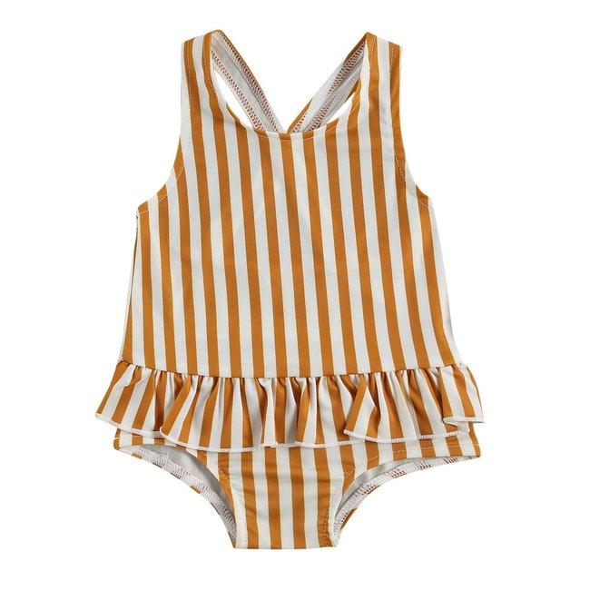Badpakje Orange Stripes