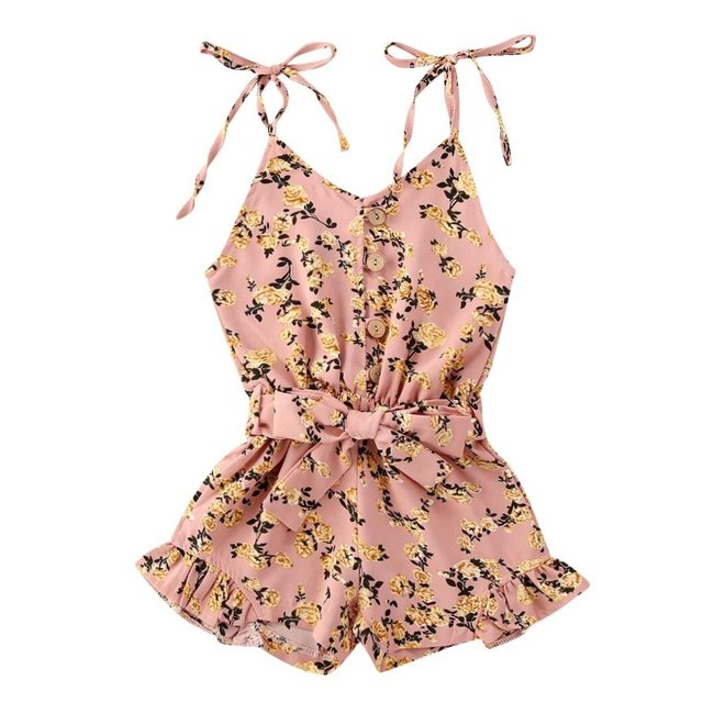 Jumpsuit Old Pink Roses