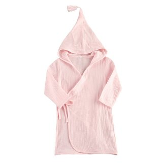 This Cuteness Badcape Light Pink Linnen