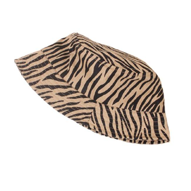 Zomer Hoed Beige Zebra