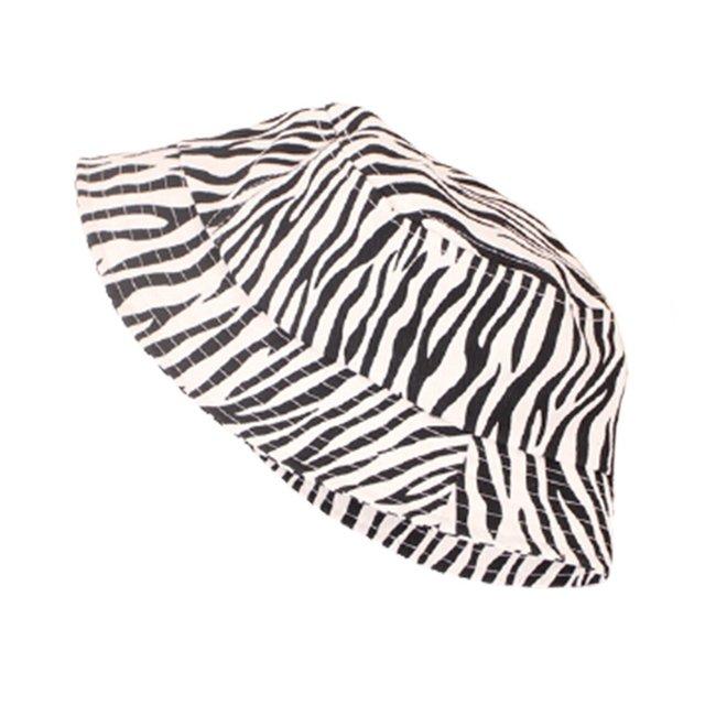 Zomer Hoed White Zebra