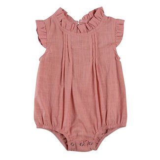 This Cuteness Body Linnen Ruffle Old Pink