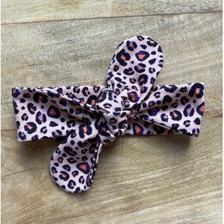 This Cuteness Baby Haarband Pink Leopard
