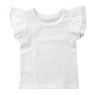 This Cuteness T-Shirt Ruffle White