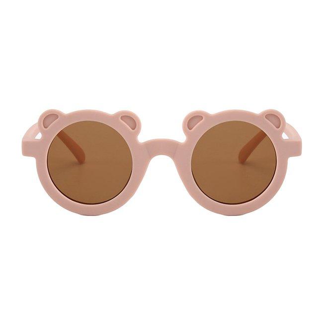 Zonnebril Happy Bear Pink