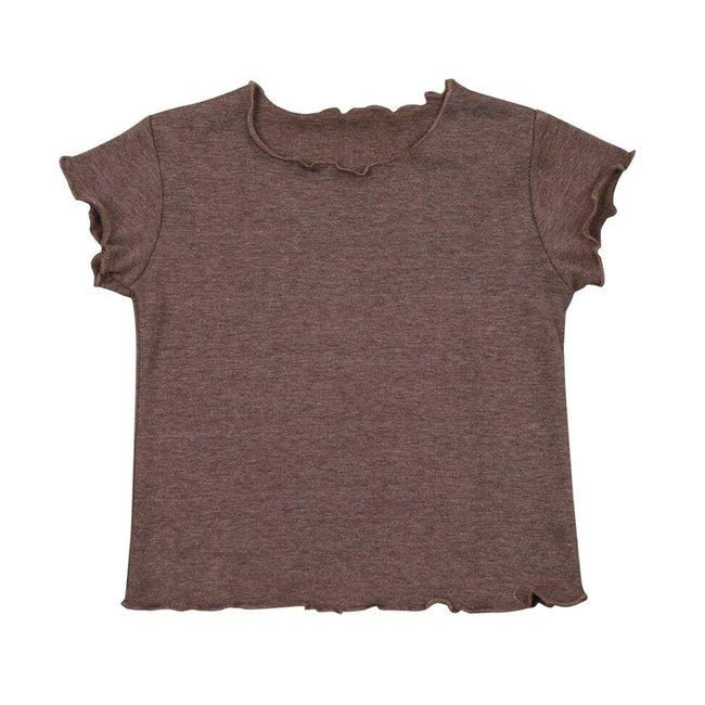 T-Shirt Boyi Dark Brown