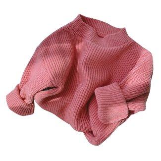 This Cuteness Oversized Sweater Nina Dark Pink