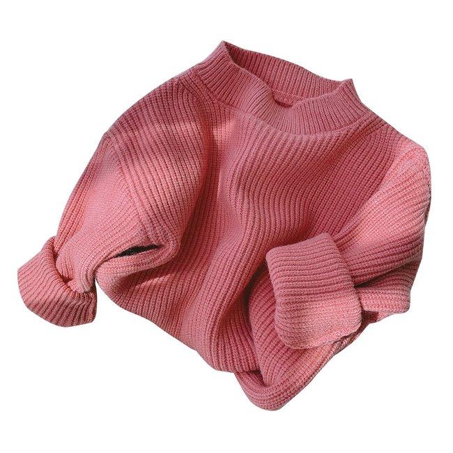 Oversized Sweater Nina Dark Pink