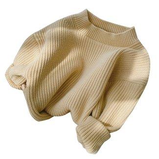 This Cuteness Oversized Sweater Nina Yellow