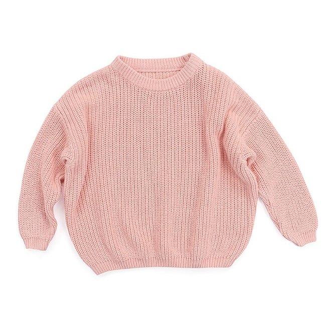 Oversized Sweater Bo Pink