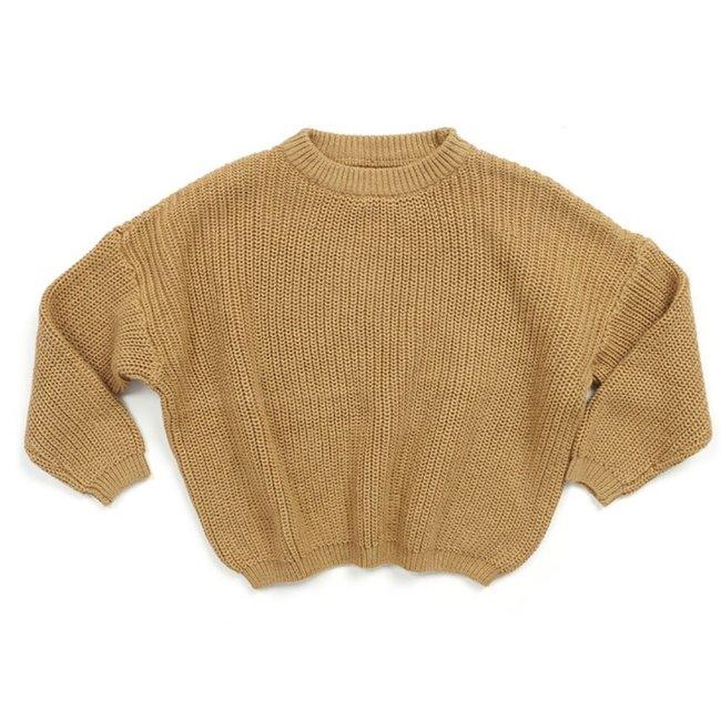 Oversized Sweater Bo Ocher