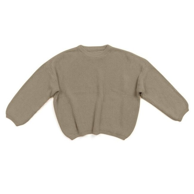 Oversized Sweater Bo Taupe