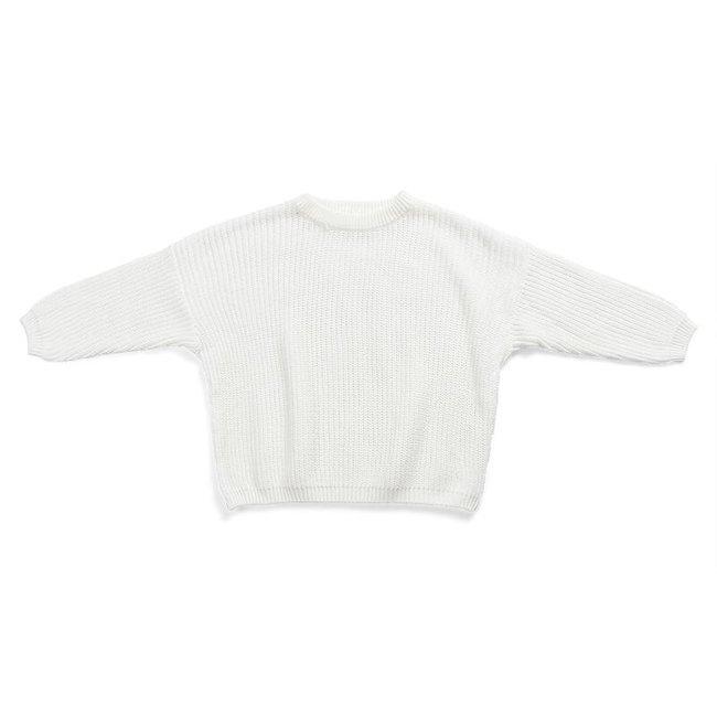 Oversized Sweater Bo White