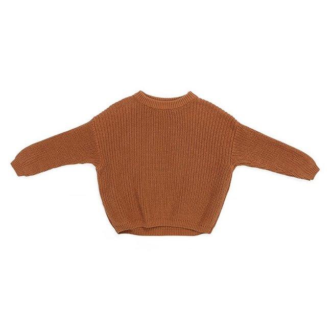 Oversized Sweater Bo Chestnut