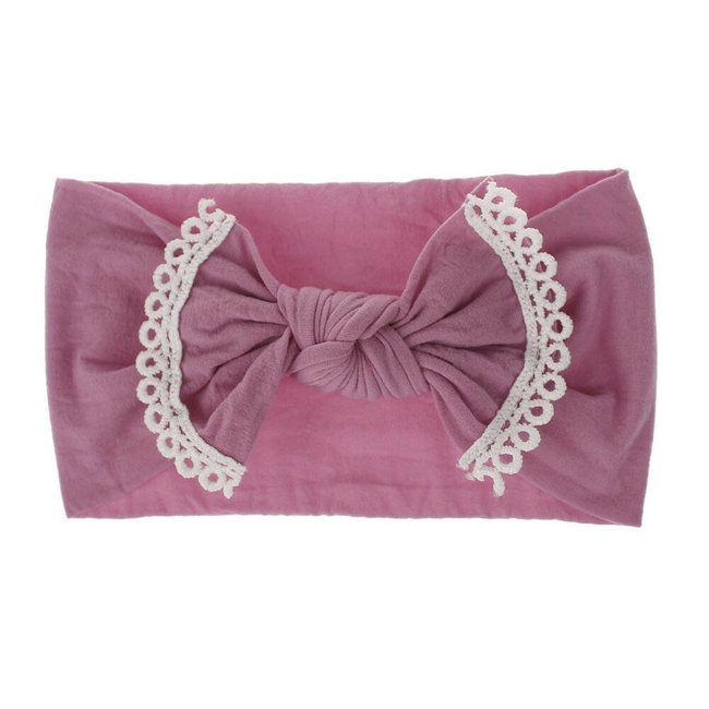 Haarband Pink Lace